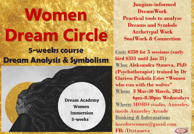 Reklamka Dream circle Feb